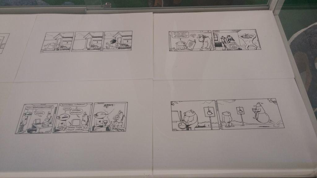 Kemin sarjakuvanäyttely21
